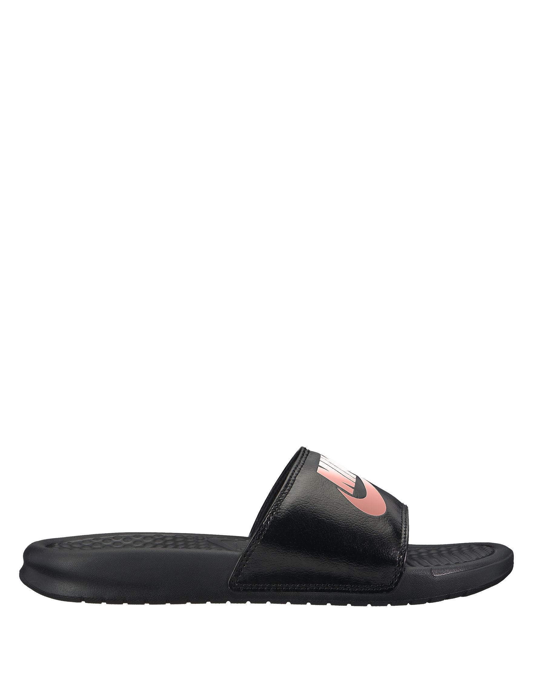 Nike Black Slide Sandals Sport Sandals