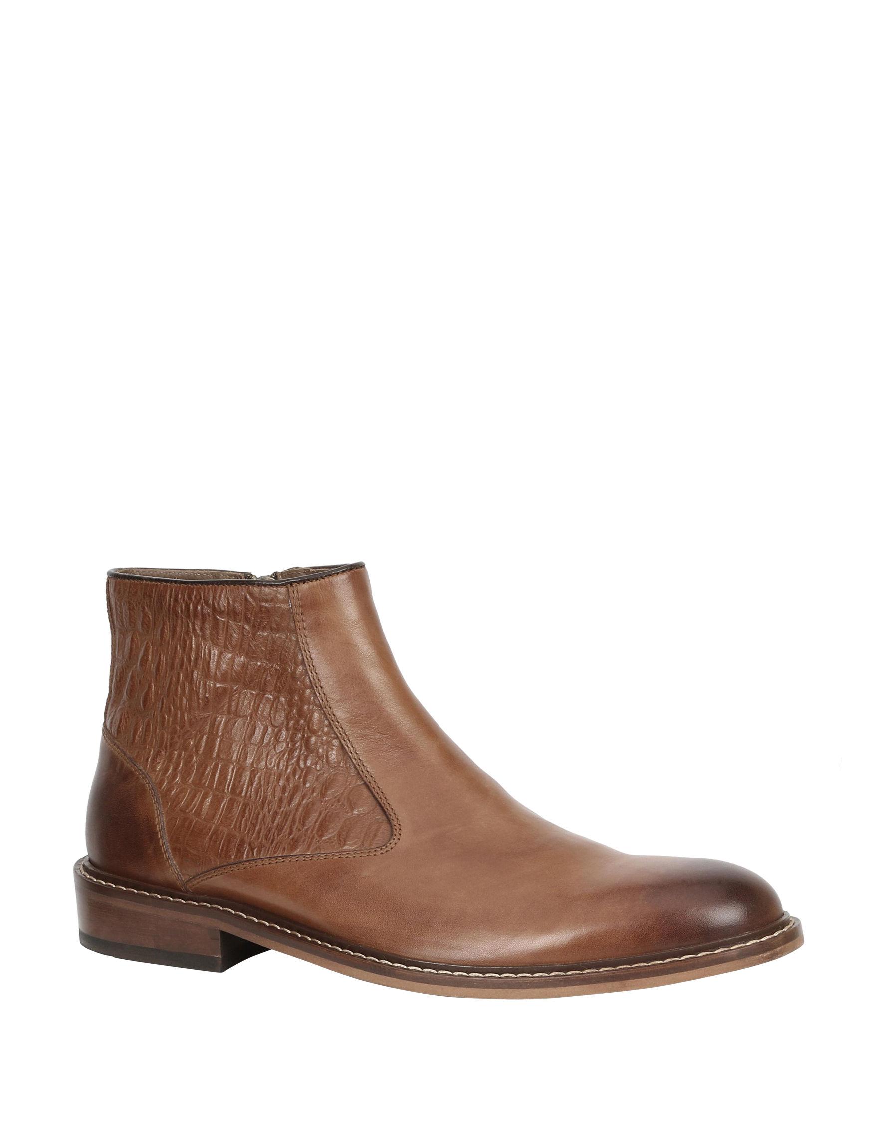Giorgio Brutini Cognac Winter Boots