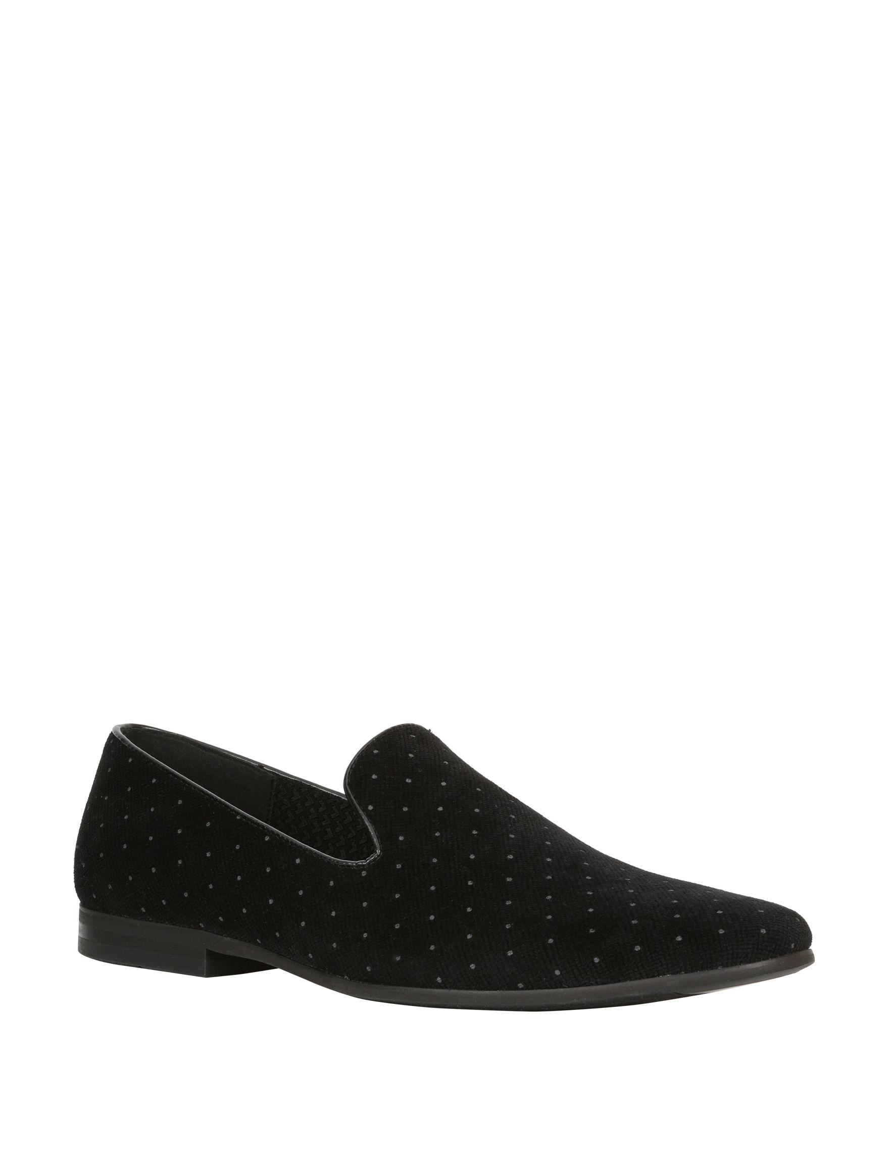 Giorgio Brutini Black Slipper Sandals