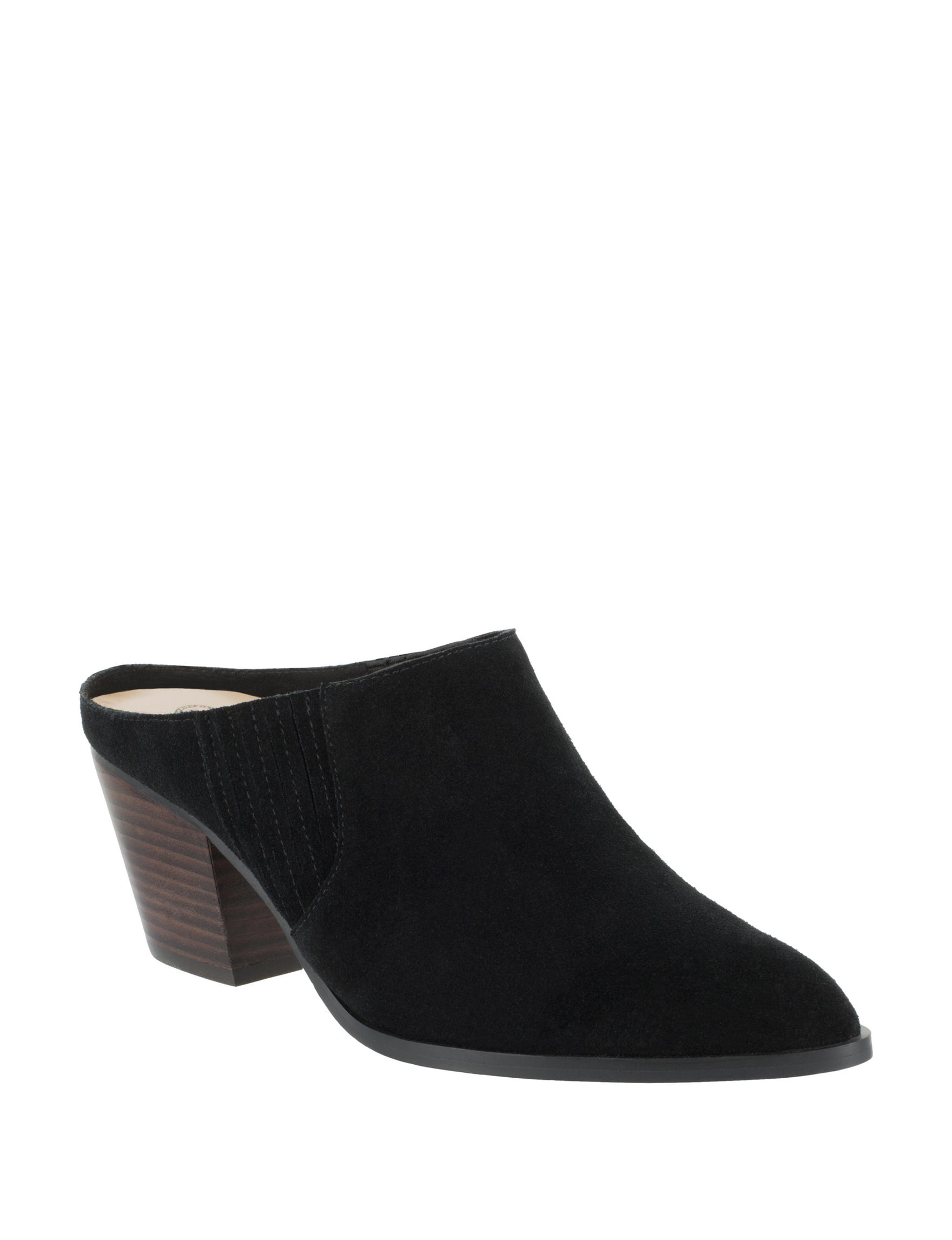 Bella Vita Black Mules