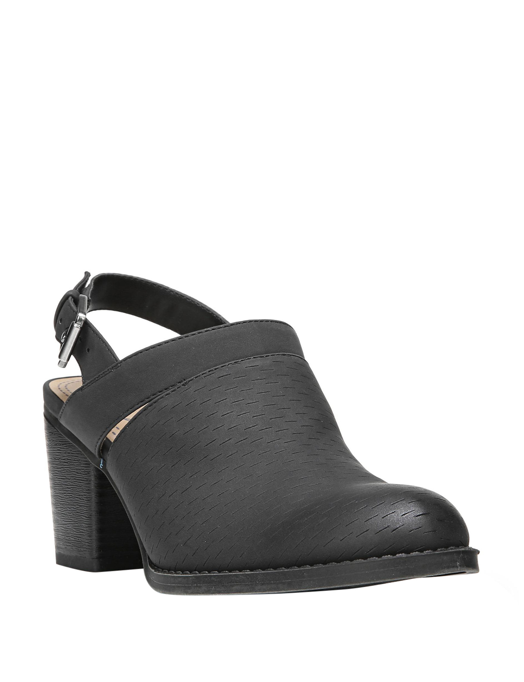 Natural Soul Black Ankle Boots & Booties