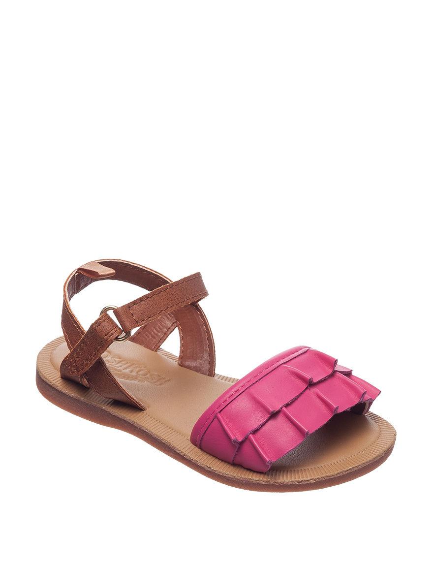 Oshkosh B'Gosh Pink Flat Sandals