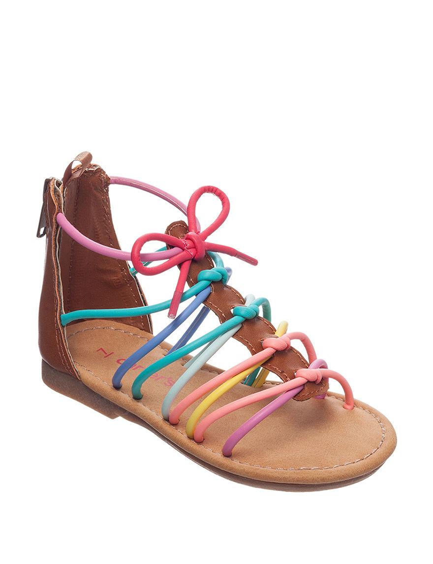 Carter's Multi Flat Sandals