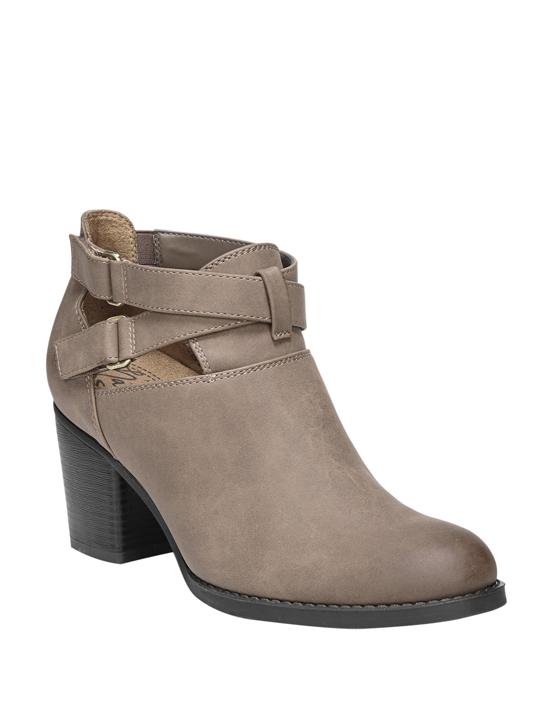 Natural Soul Tan Ankle Boots & Booties