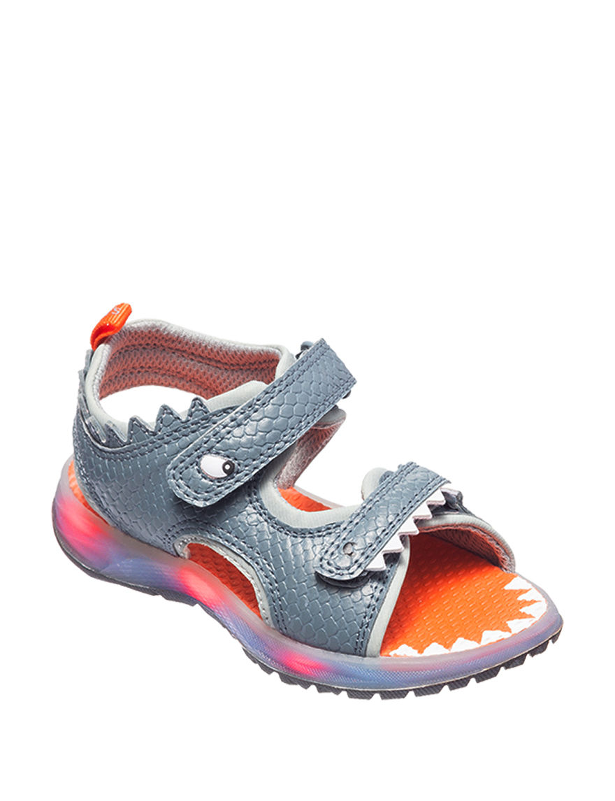 Carter's Charcoal Flat Sandals