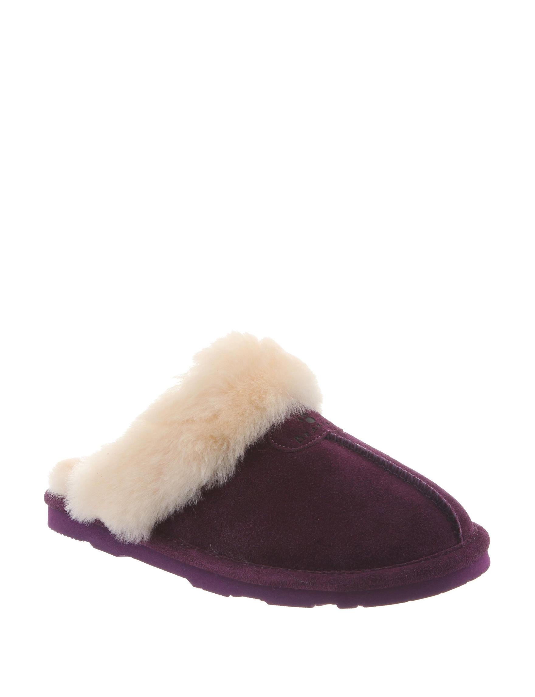 Bearpaw Plum Slipper Shoes