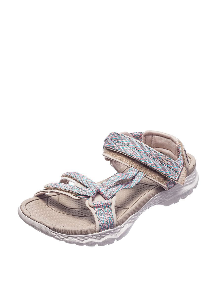 b6d28de1f94c Skechers Go Walk Outdoors Runyon Sandals