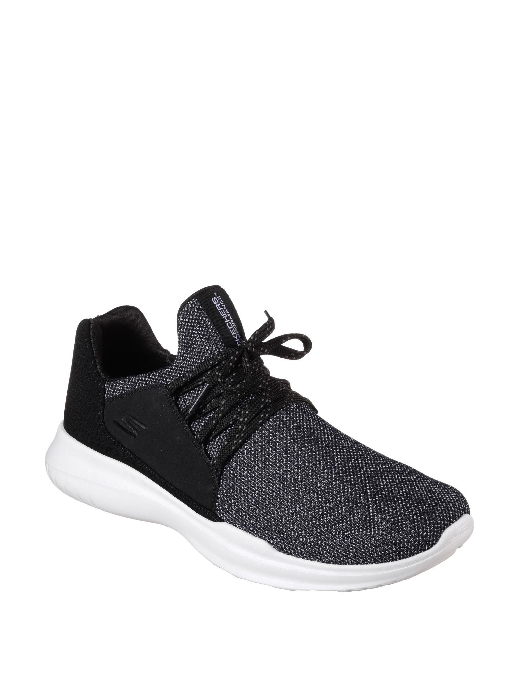 Skechers Black /  White
