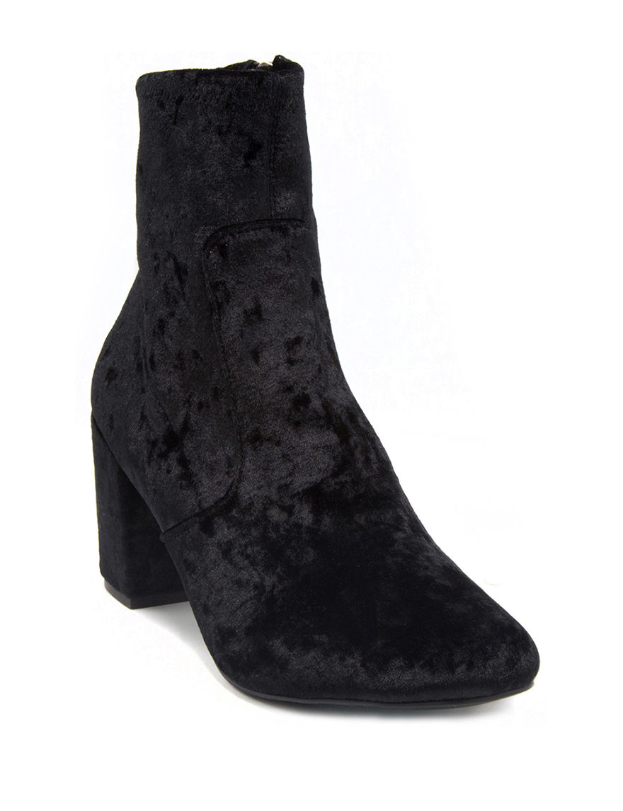 Rampage Black Ankle Boots & Booties
