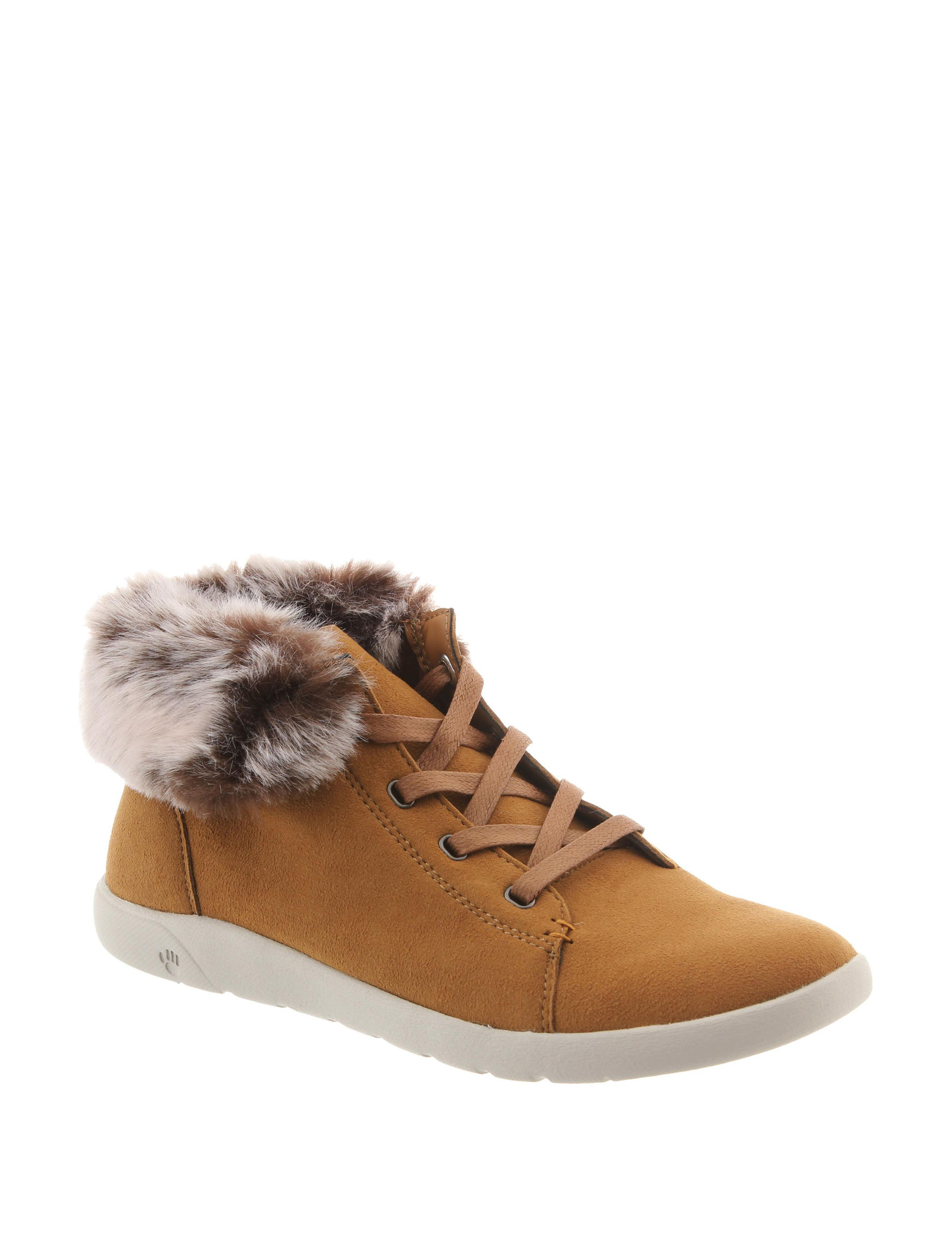 Bearpaw Tan Ankle Boots & Booties