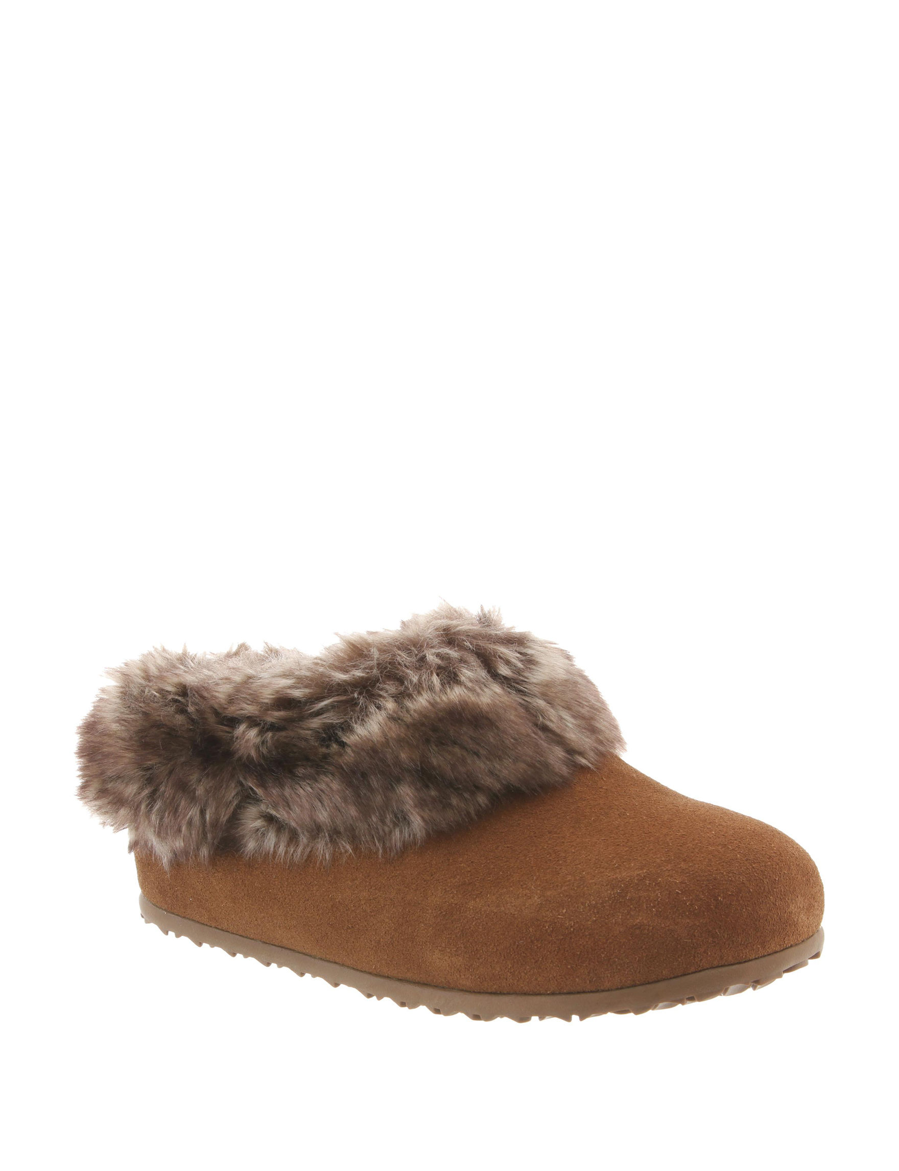 Bearpaw Brown Clogs Mules