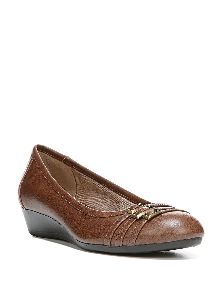 Lifestride Mushroom Comfort Shoes Wedge Pumps