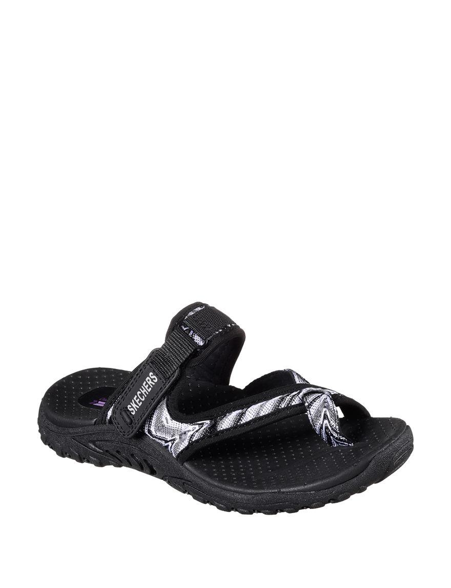 Skechers Charcoal Sport Sandals Comfort