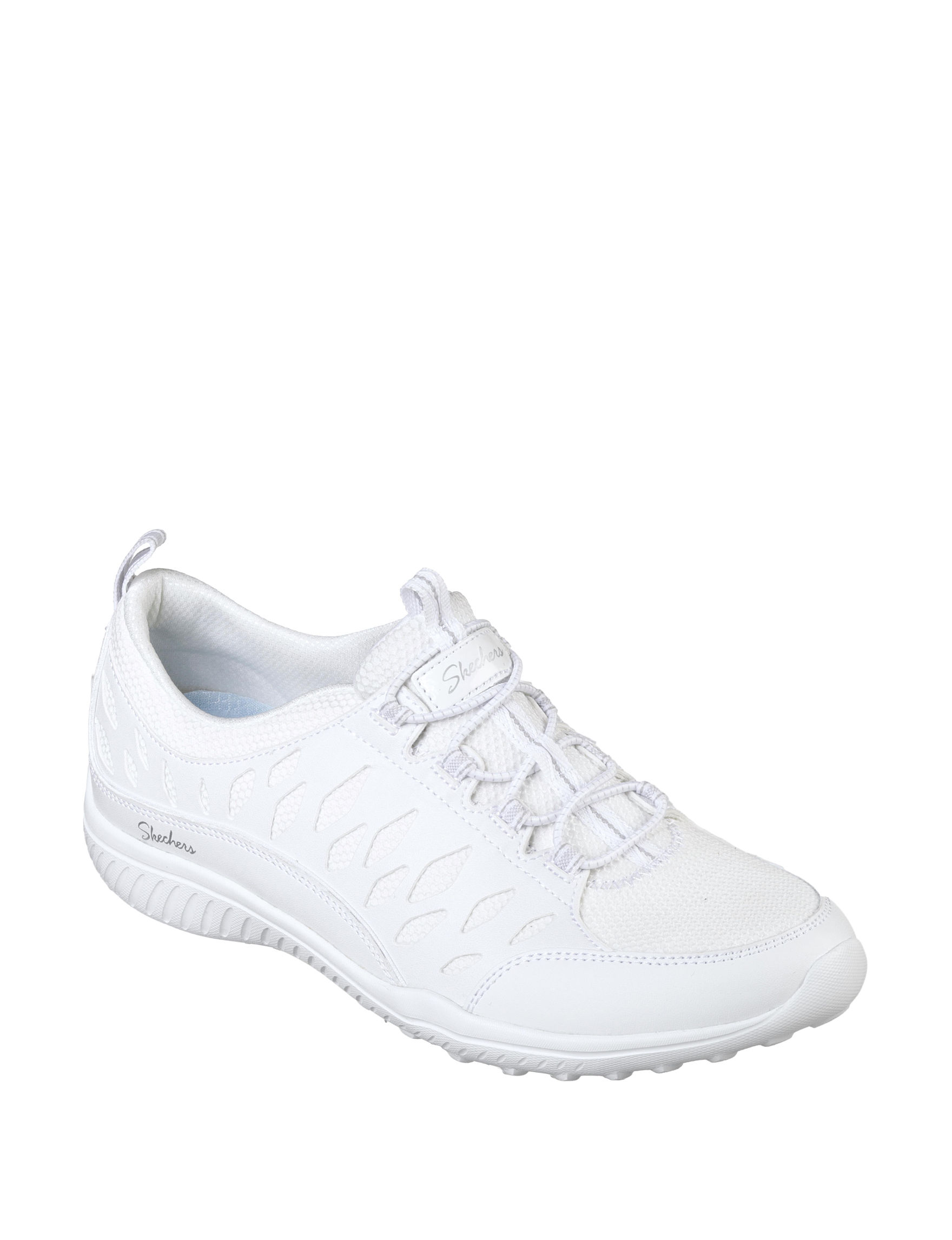 Skechers White Comfort