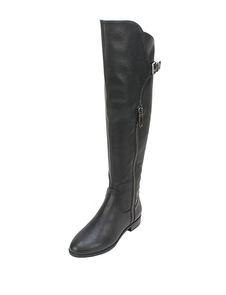 Rialto Black Riding Boots Comfort
