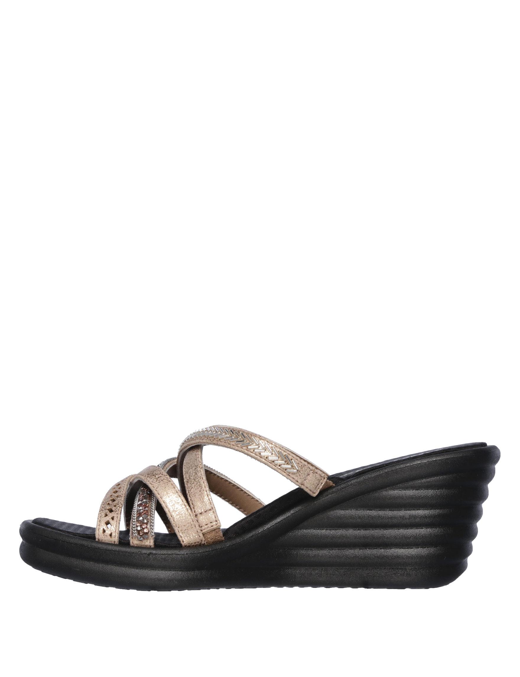 8c9a9c37 Skechers Women's Rumblers Wave New Lassie Wedge Sandals | Stage Stores