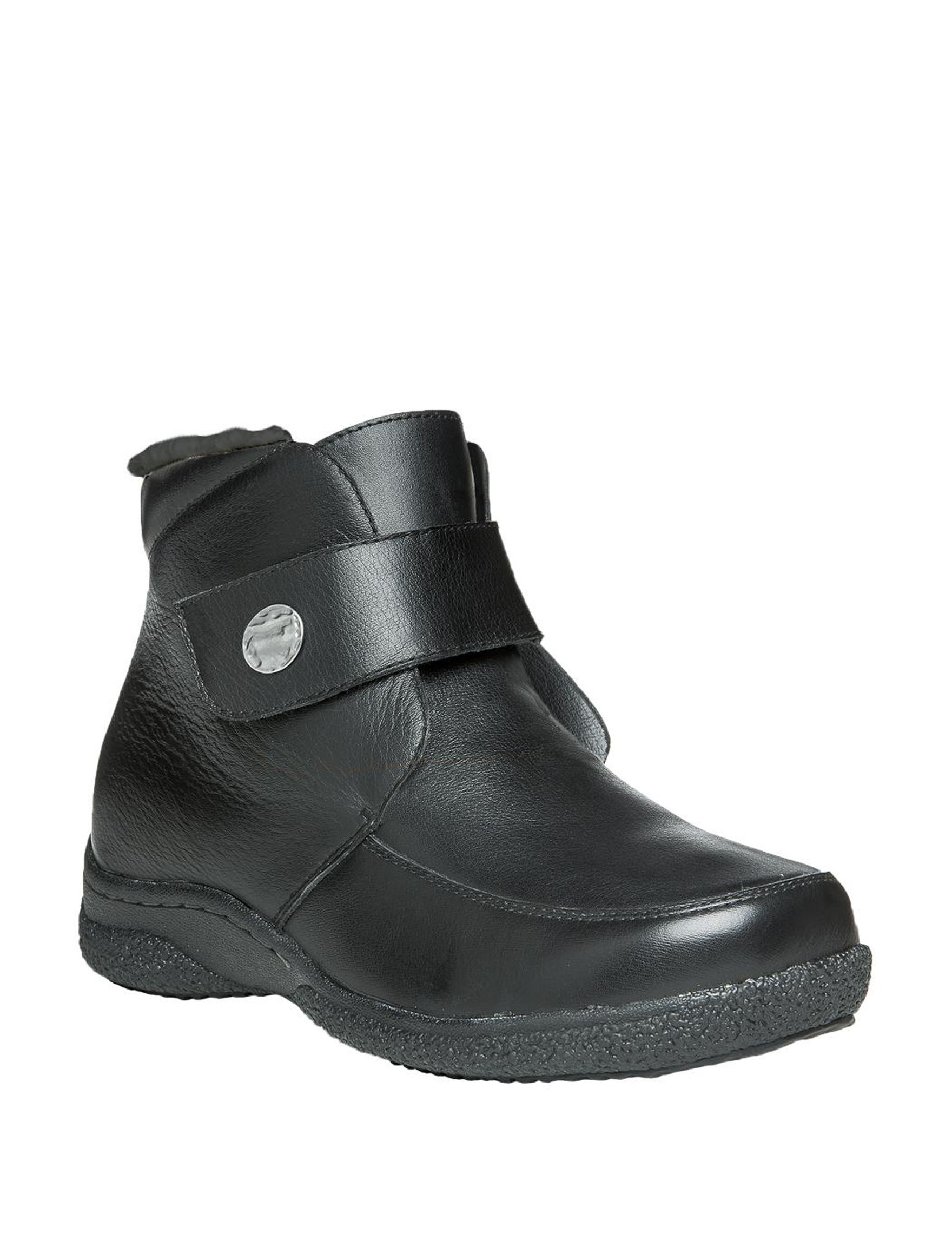 Propet Black Ankle Boots & Booties
