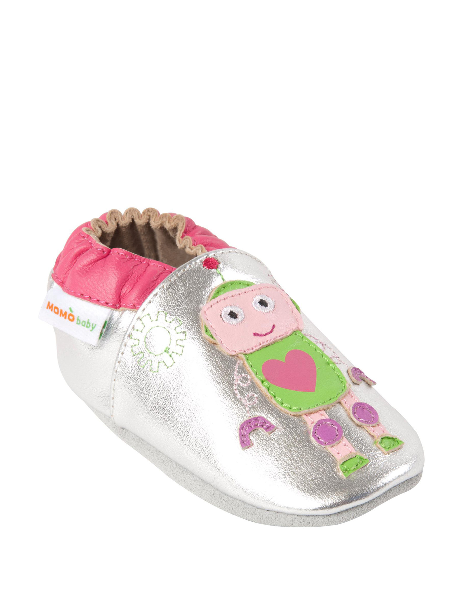 Momo Baby Girly Gears Crib Shoes Baby 6 24 Mos