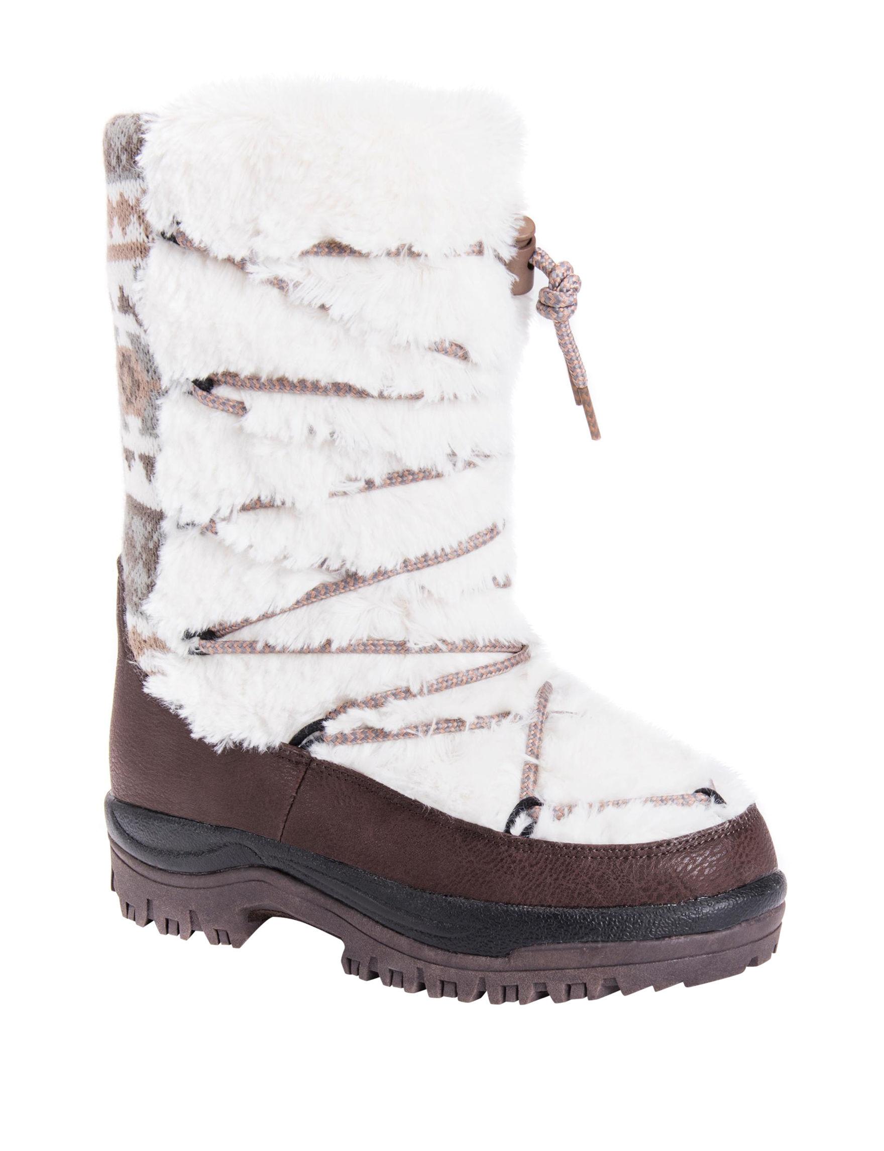 Muk Luks Ivory Winter Boots