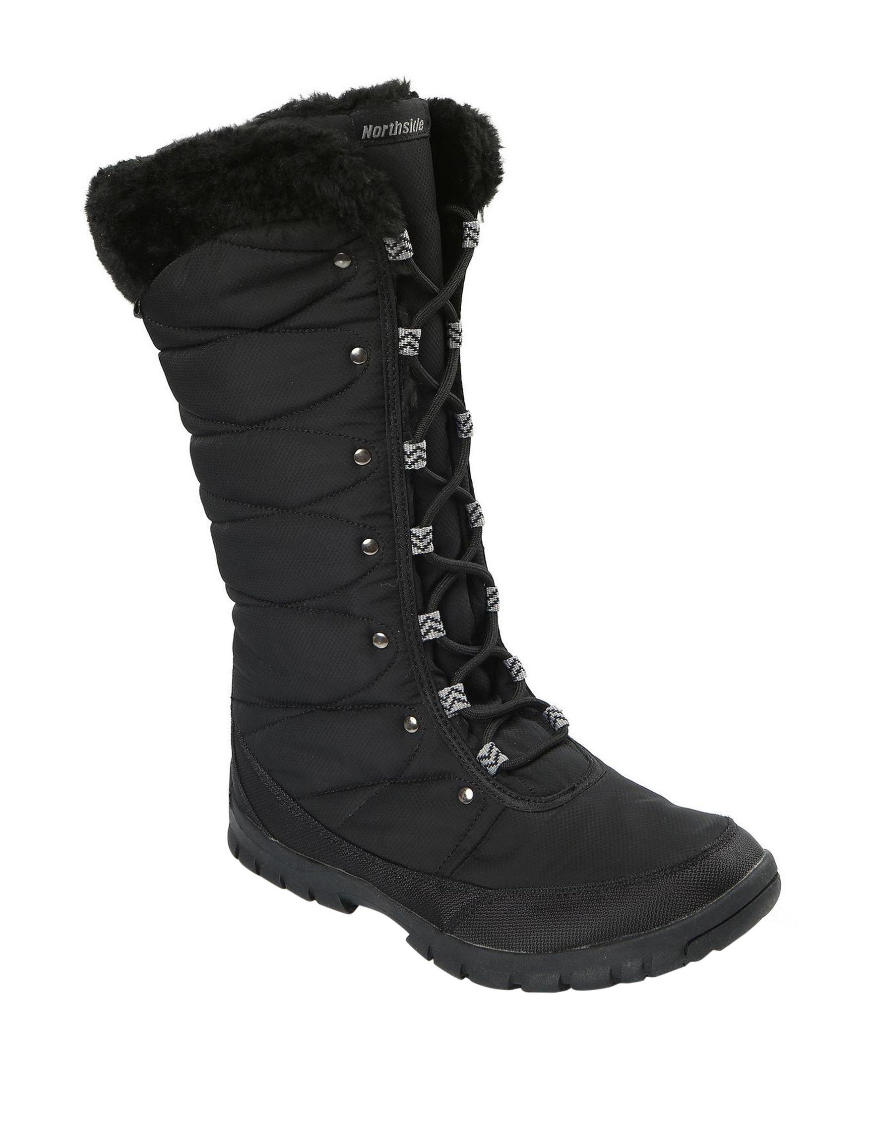 Northside Black Winter Boots