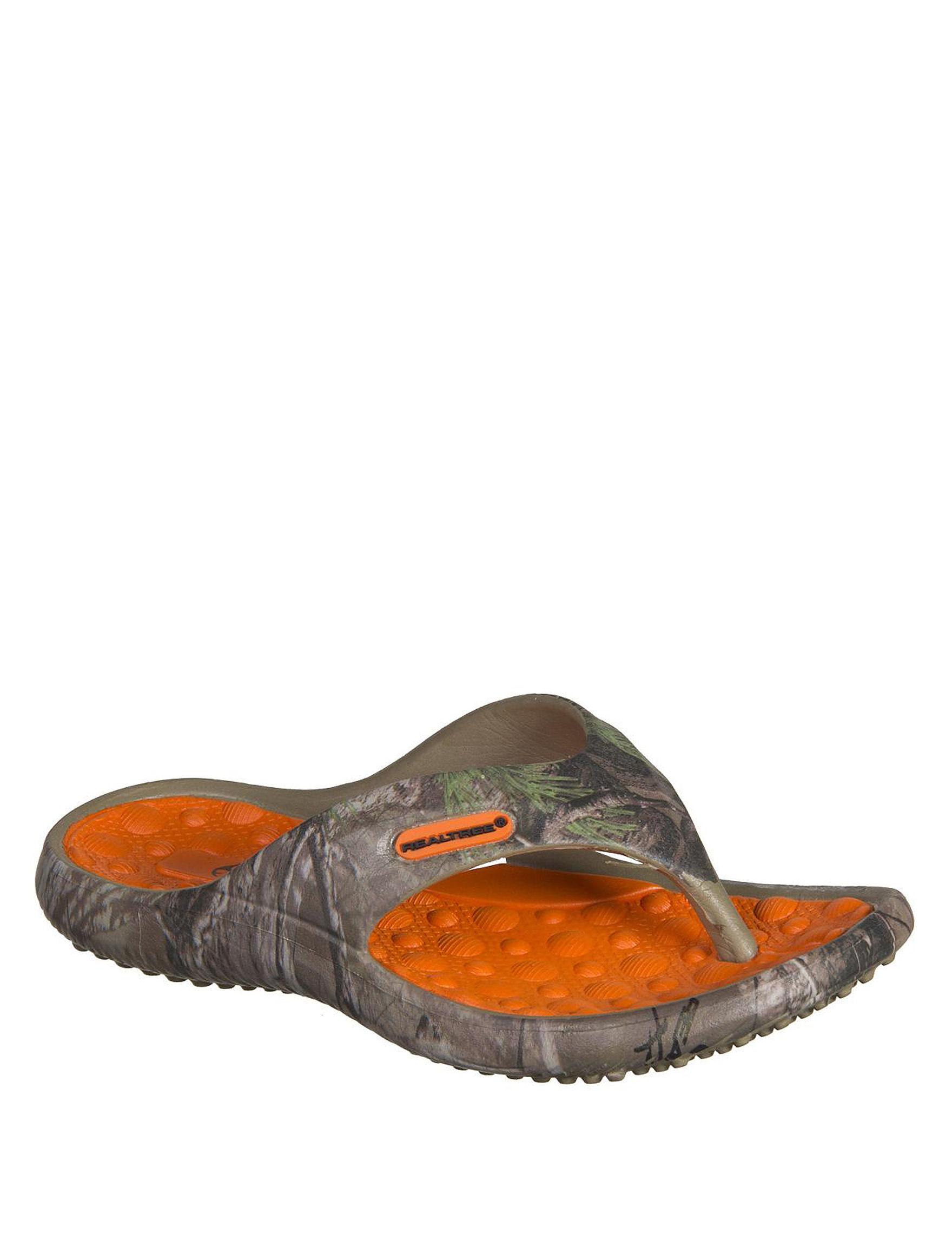 Realtree Camo Flip Flops