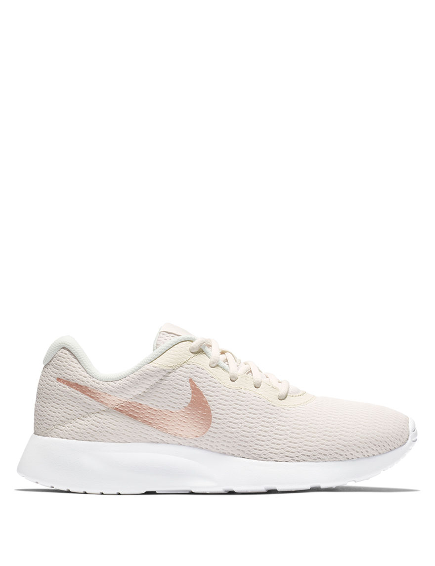 d5ea5144f551 Nike Women s Tanjun Running Shoes - White   Pink - 7.5 - Nike