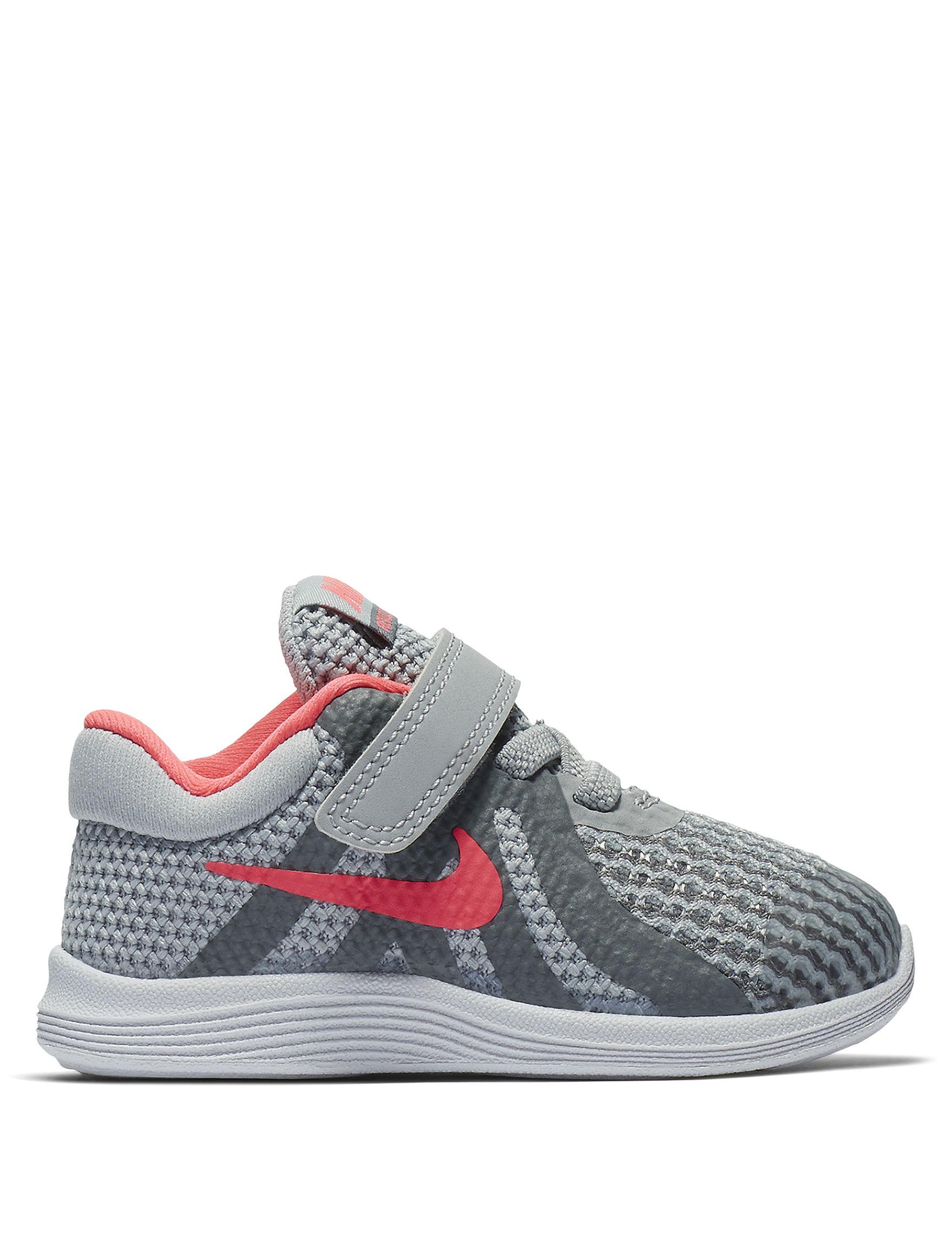 Nike Grey / Dark Pink