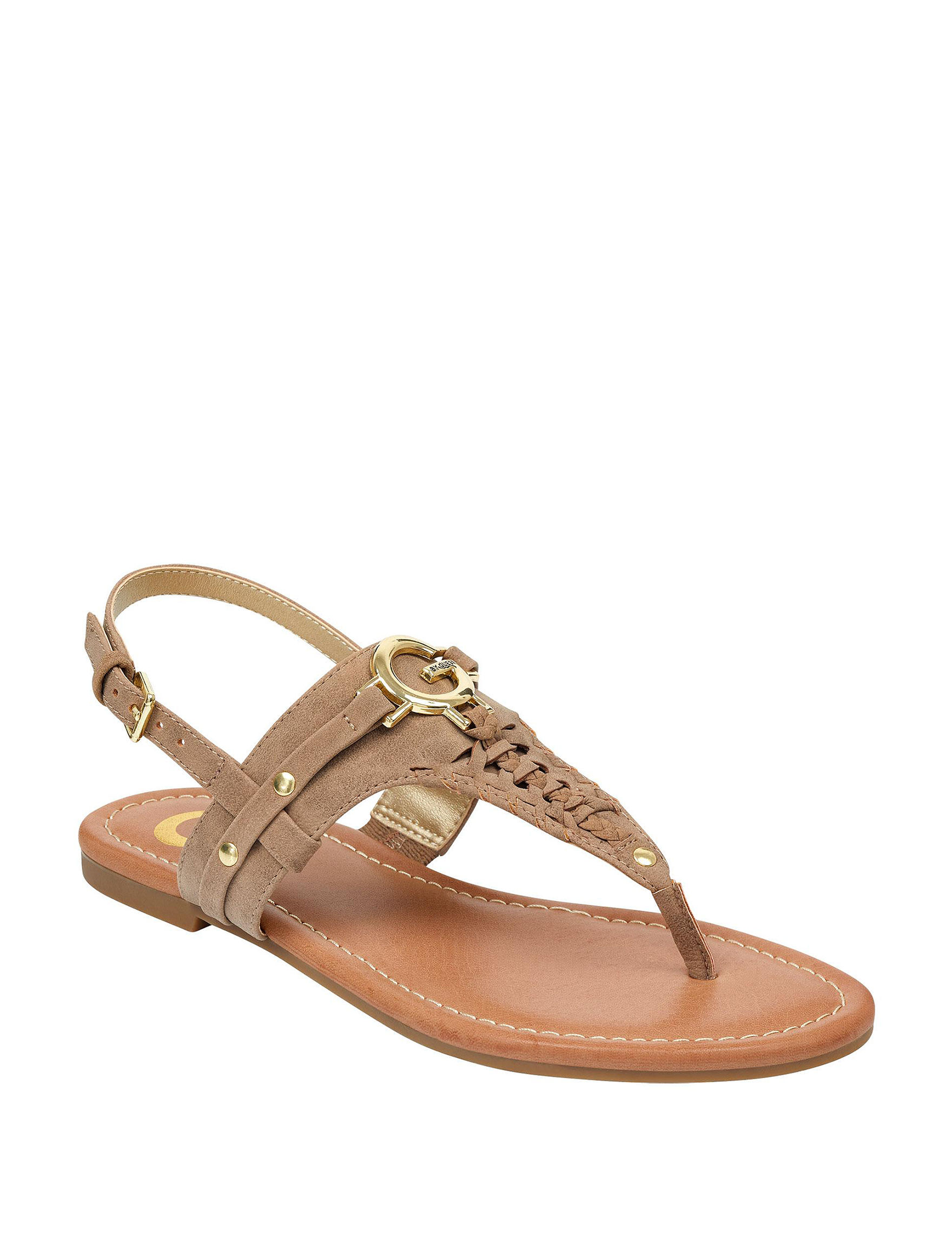 G by Guess Mushroom Flat Sandals