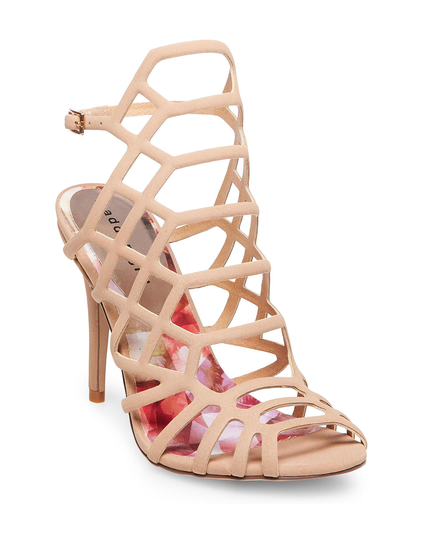 Madden Girl Nude Heeled Sandals