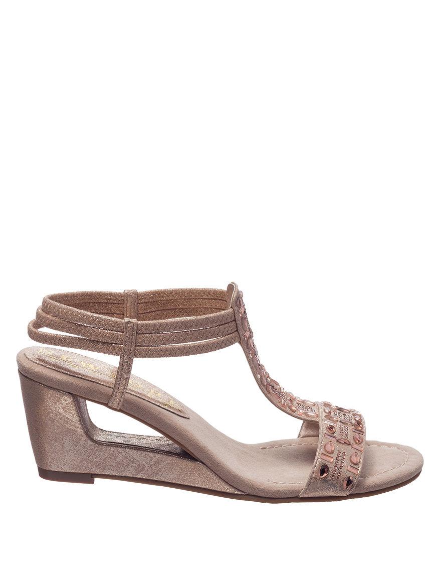 291380733b34 New York Transit Fancy Jewels Wedge Sandals