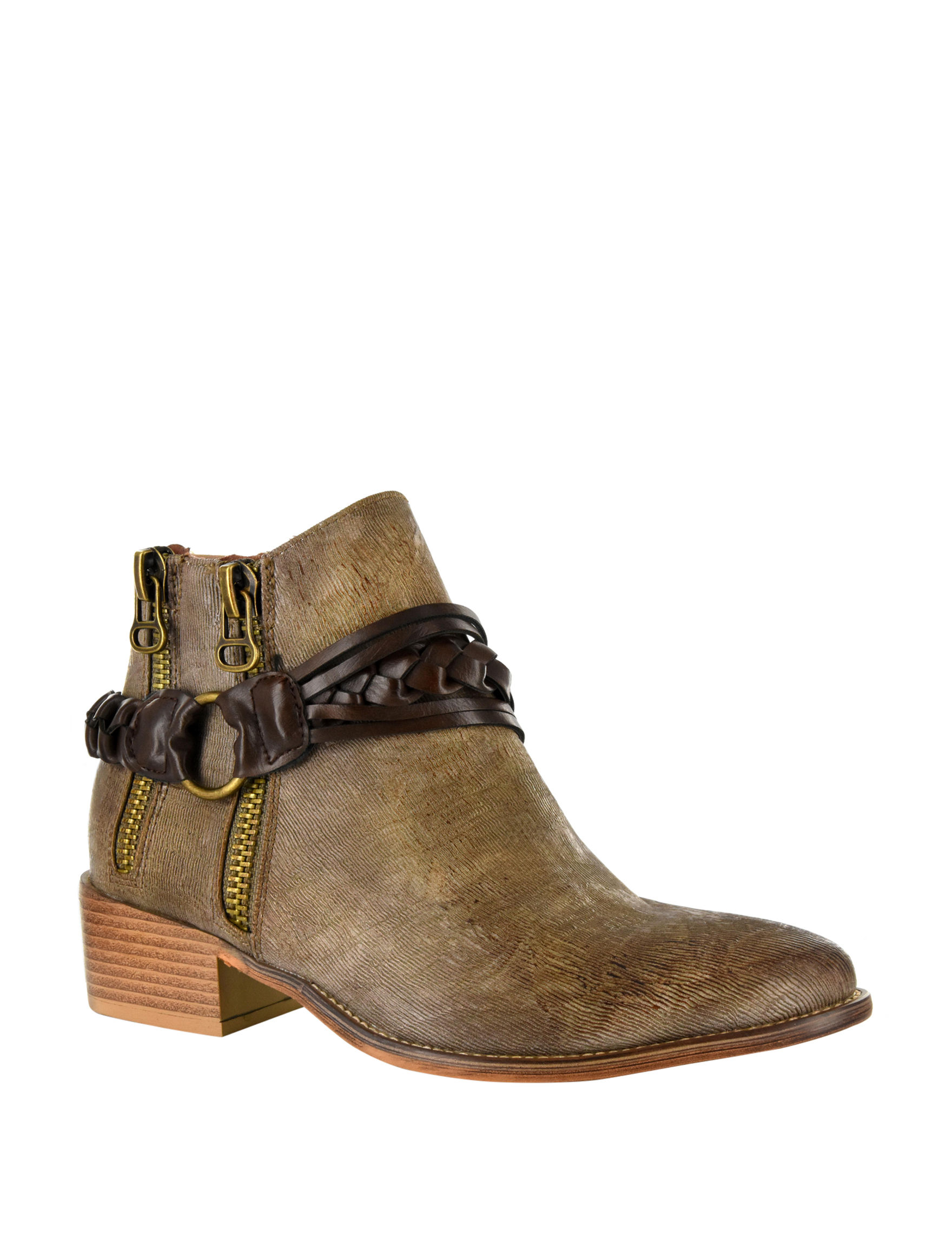 Corkys Beige Ankle Boots & Booties