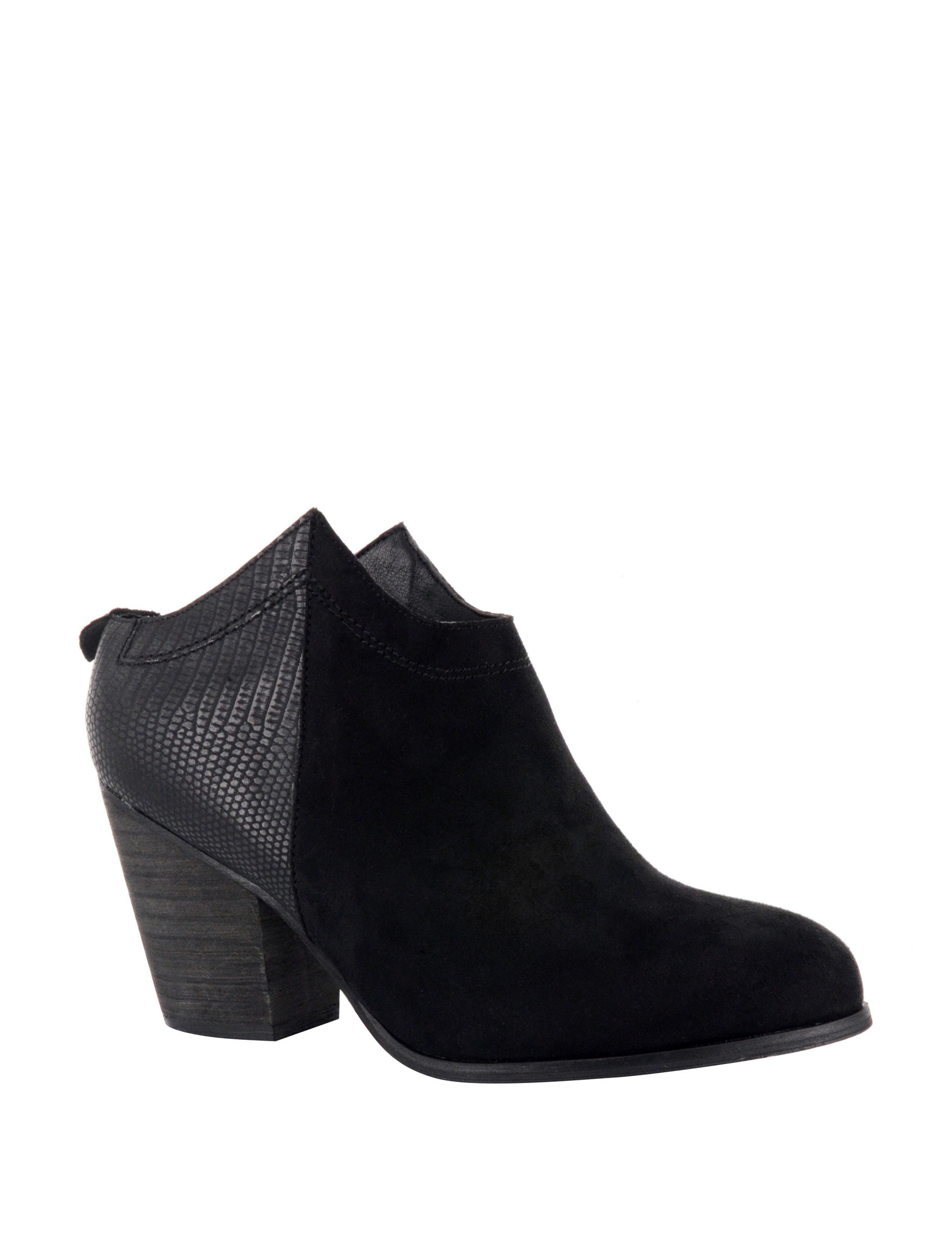 Corkys Black Ankle Boots & Booties Western & Cowboy Boots