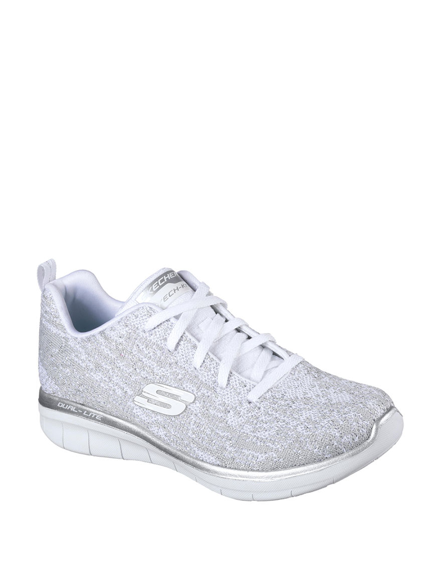 Skechers Grey / White