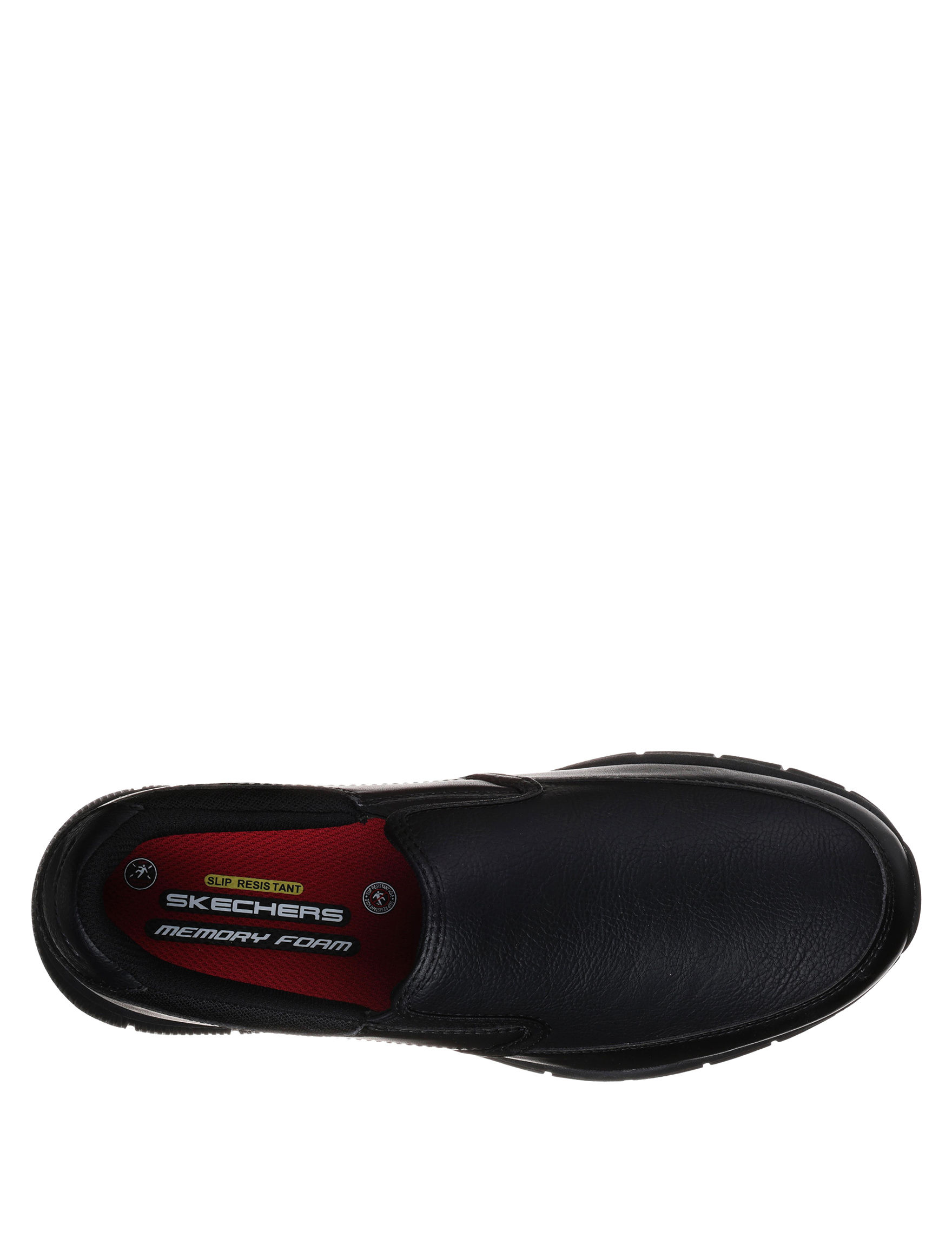 a716383a170e Skechers Men s Relaxed Fit Nampa Groton SR Slip-On Shoes