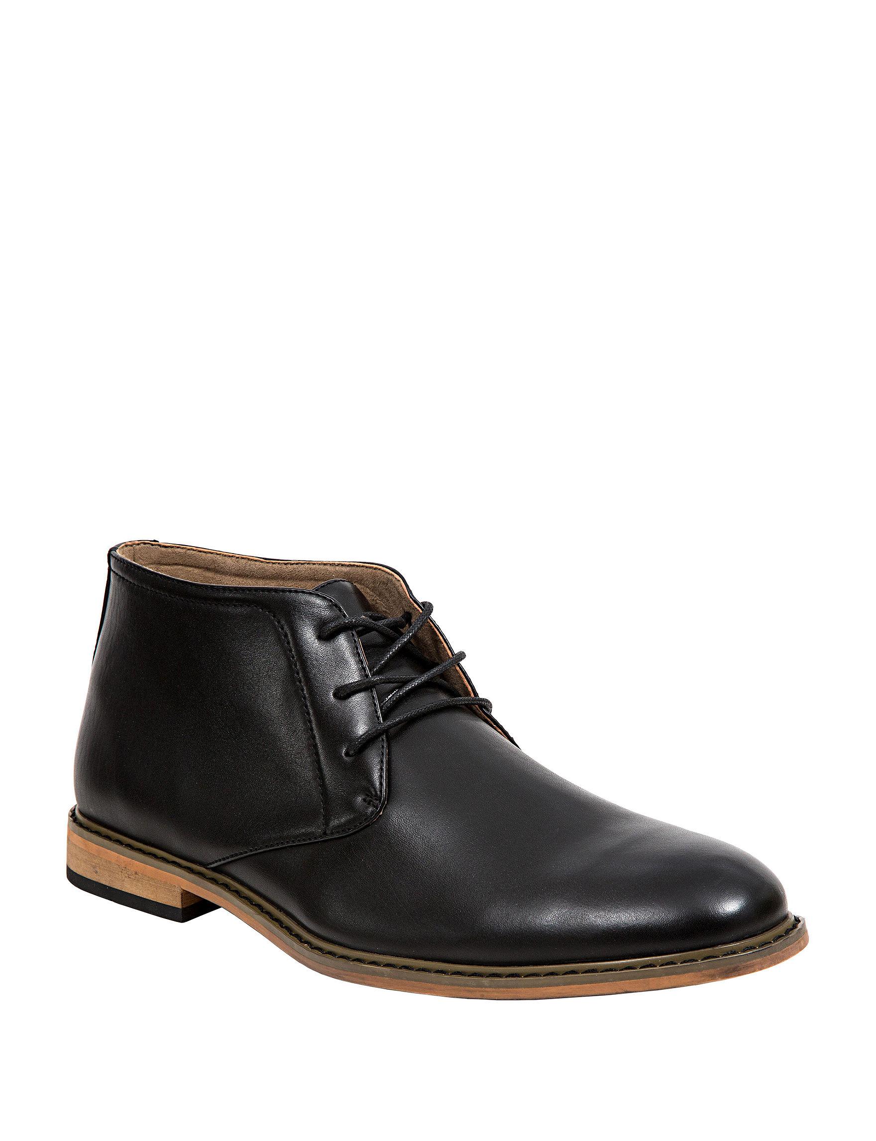 Deer Stags Black Chukka Boots