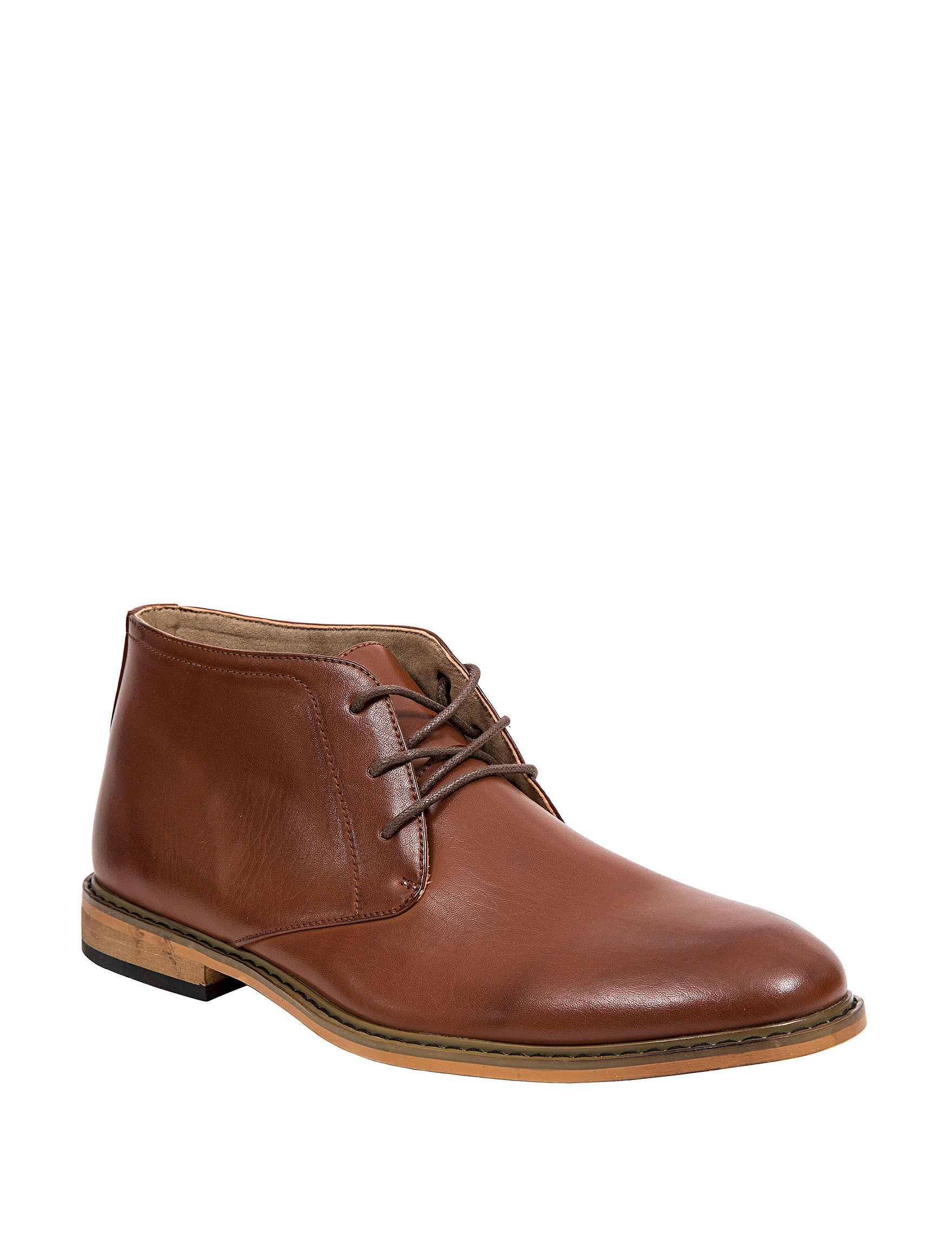 Deer Stags Brown Chukka Boots