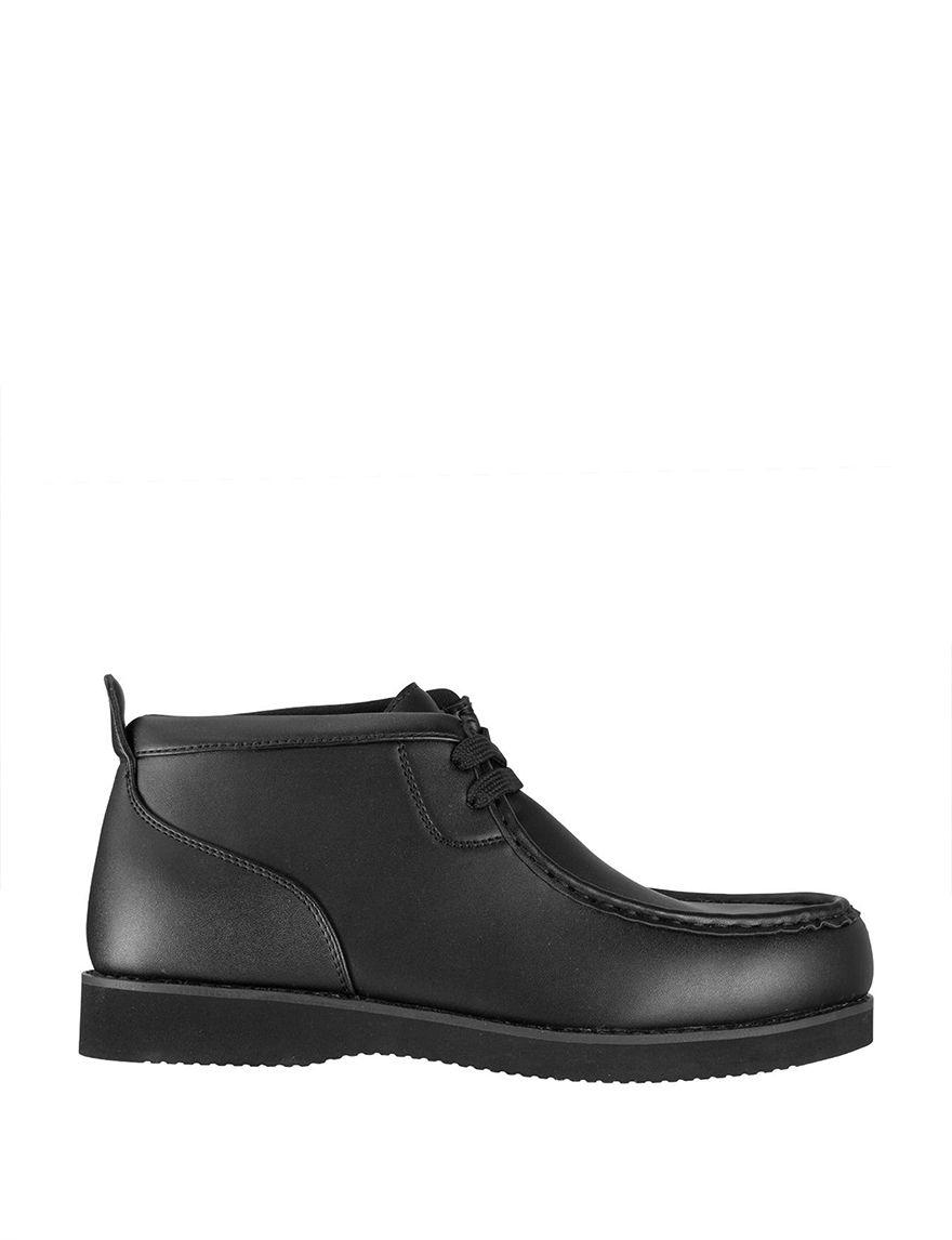 Lugz Black Chukka Boots