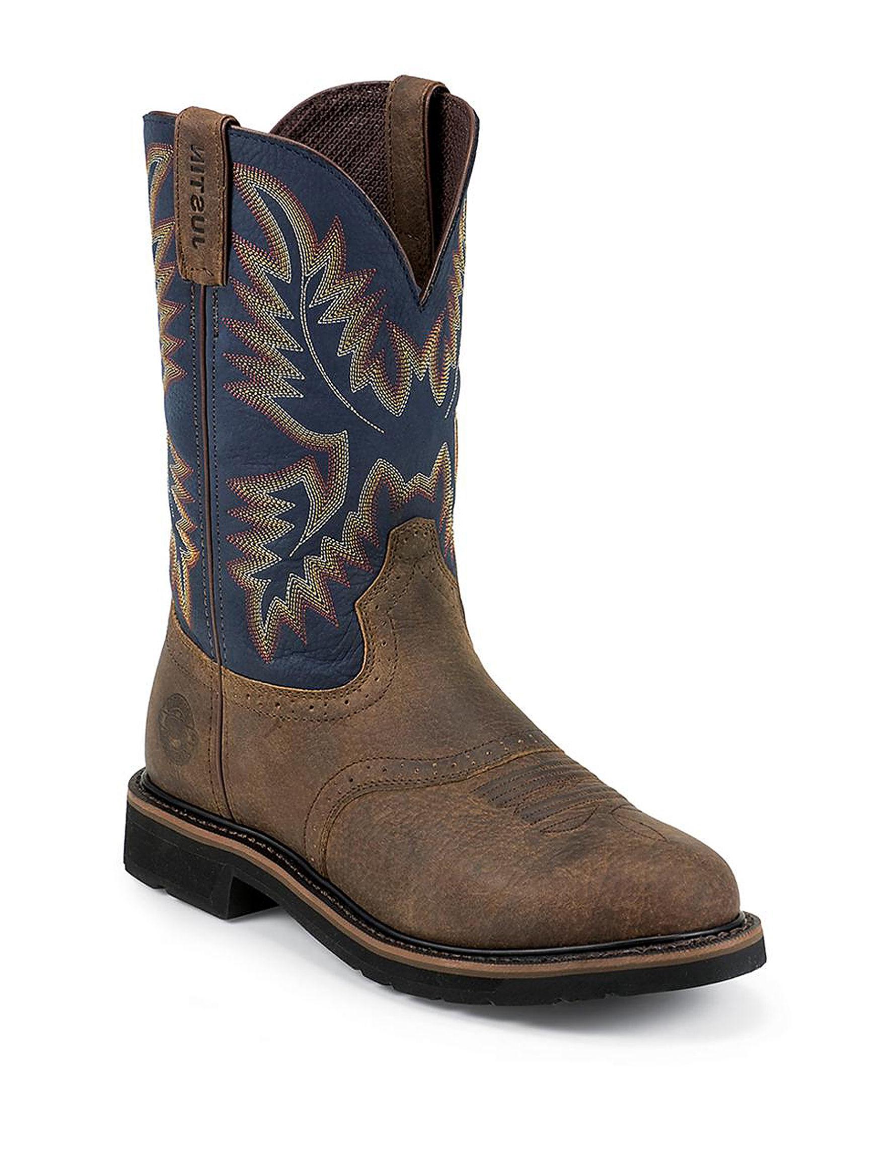Justin Boots Rust Chukka Boots