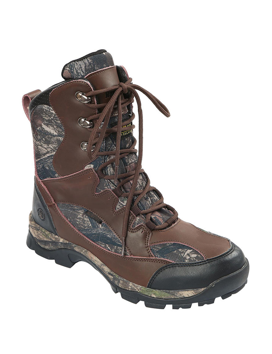 Northside Brown Camo Hiking Boots Waterproof