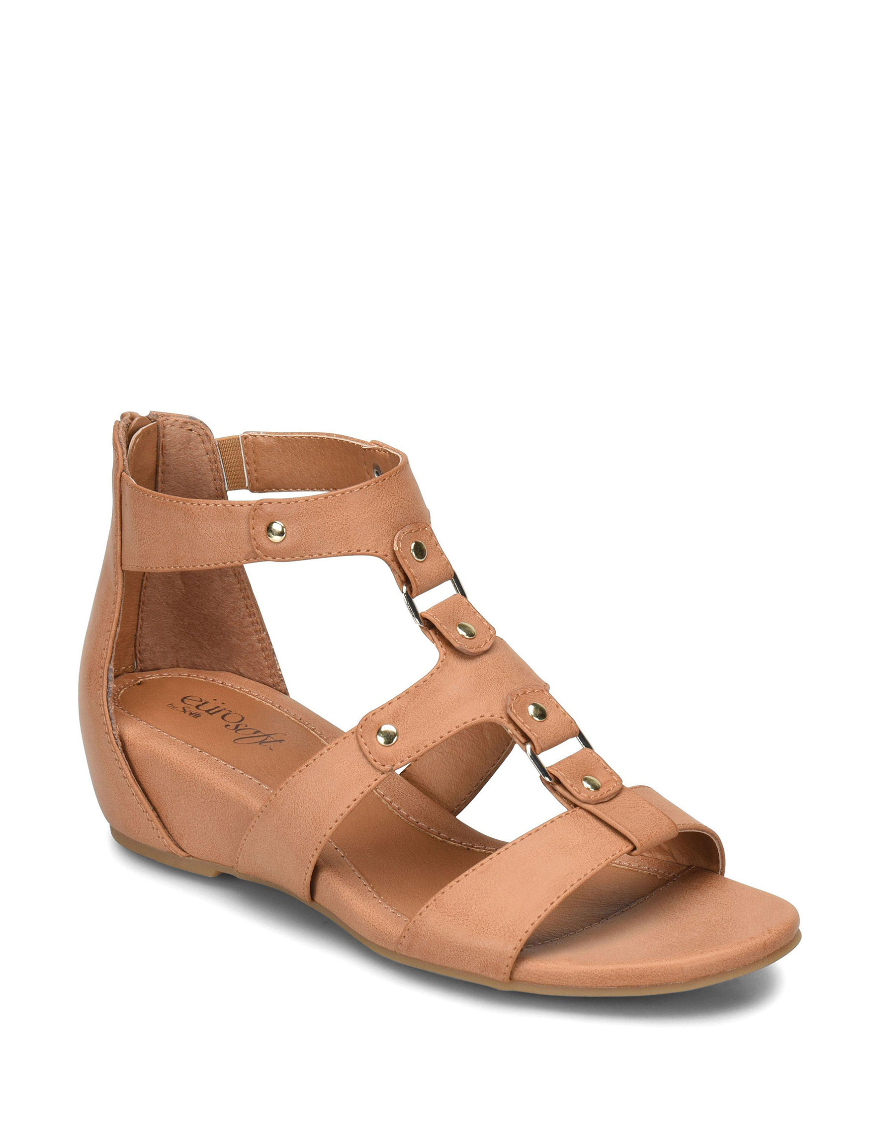 Eurosoft Toast Gladiators Wedge Sandals Comfort