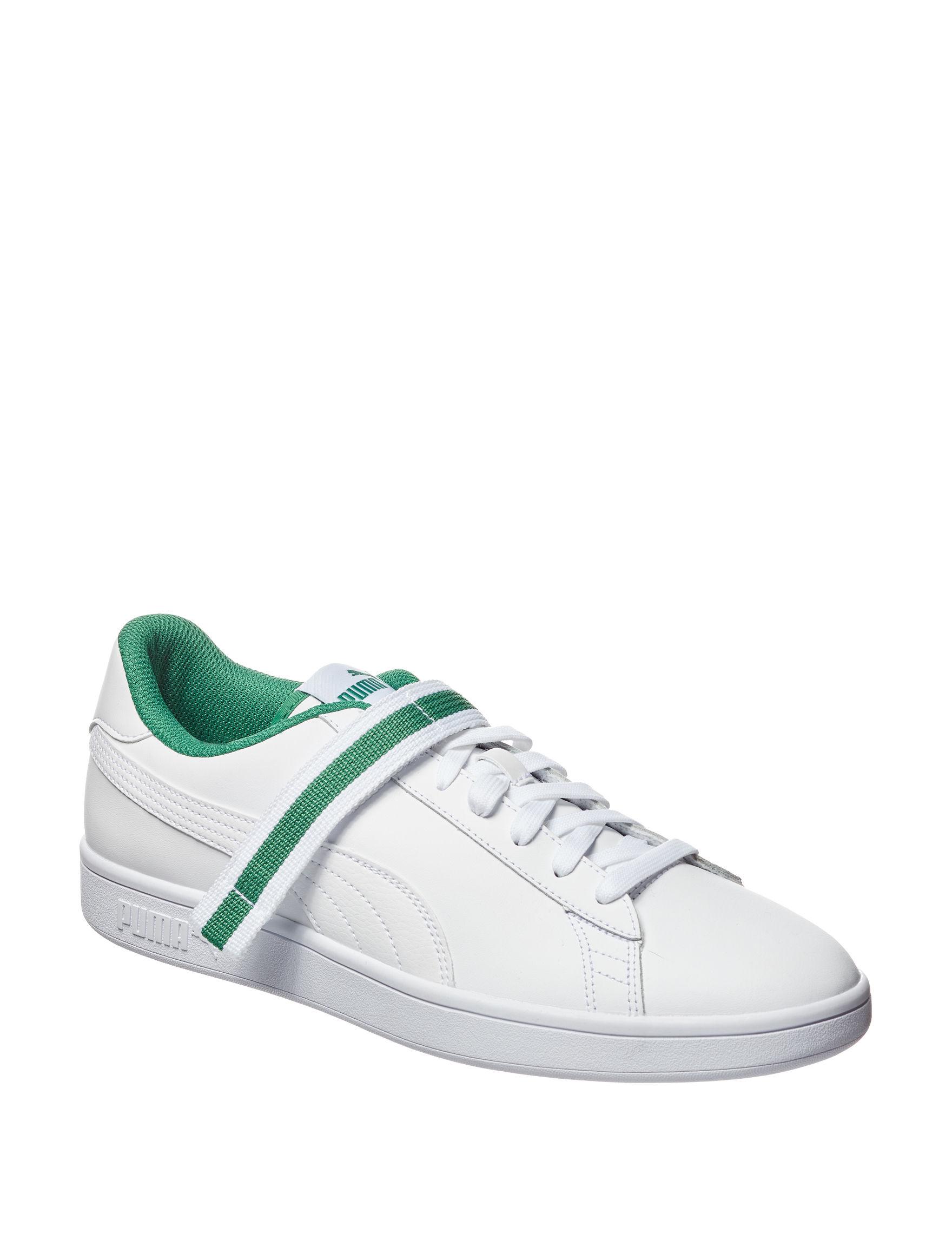 Puma White / Green