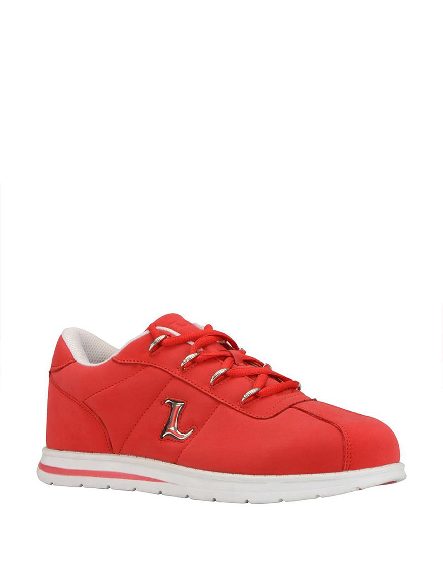 Lugz Red / White