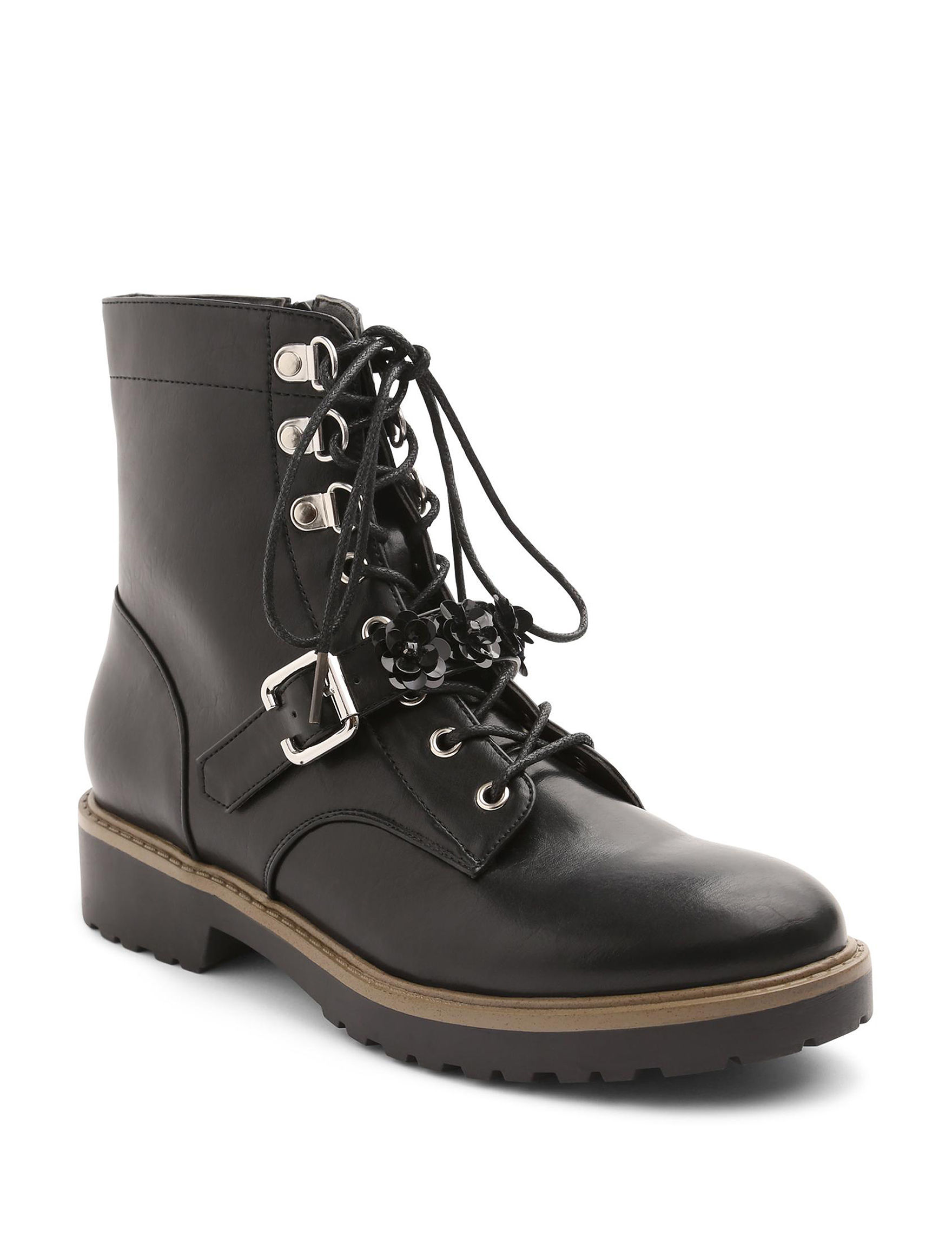 XOXO Black Ankle Boots & Booties
