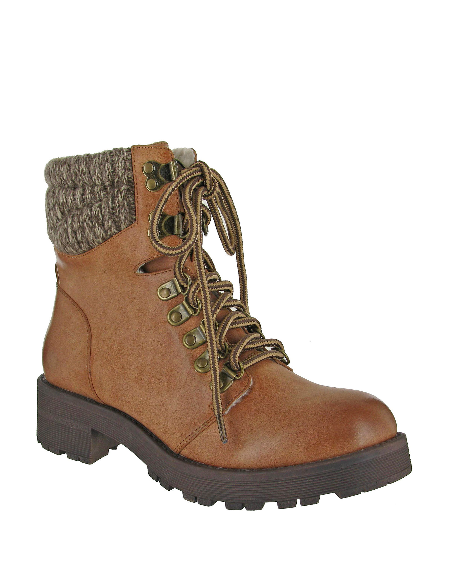 MIA Tan Ankle Boots & Booties