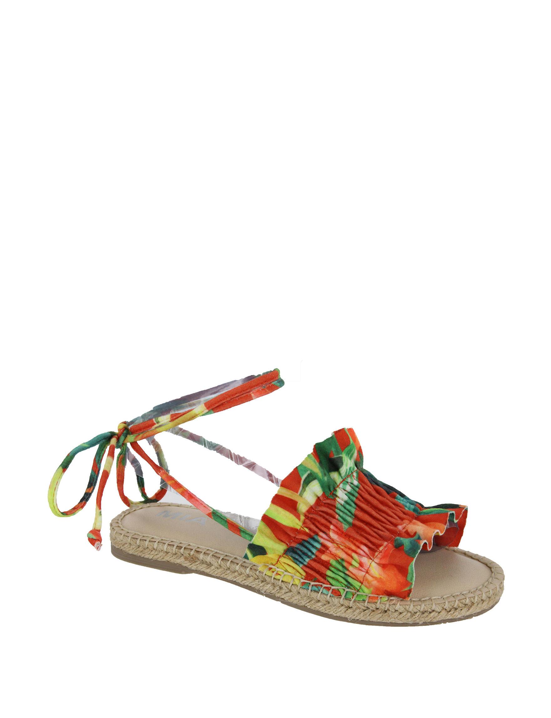 MIA Multi Flat Sandals