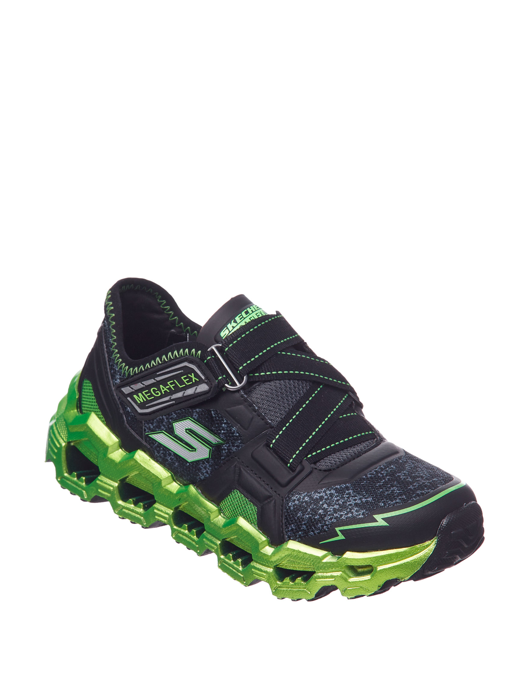Skechers Black / Lime