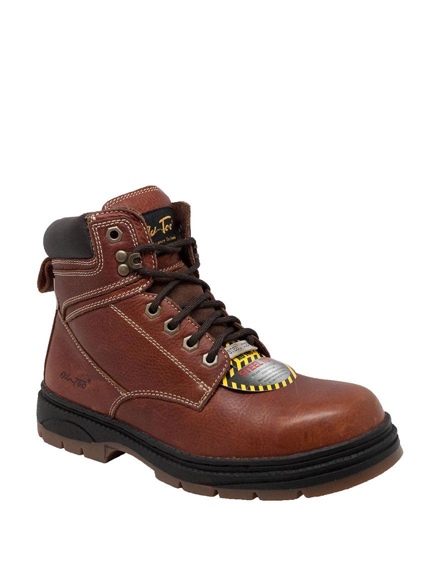 Adtec Brown Steel Toe