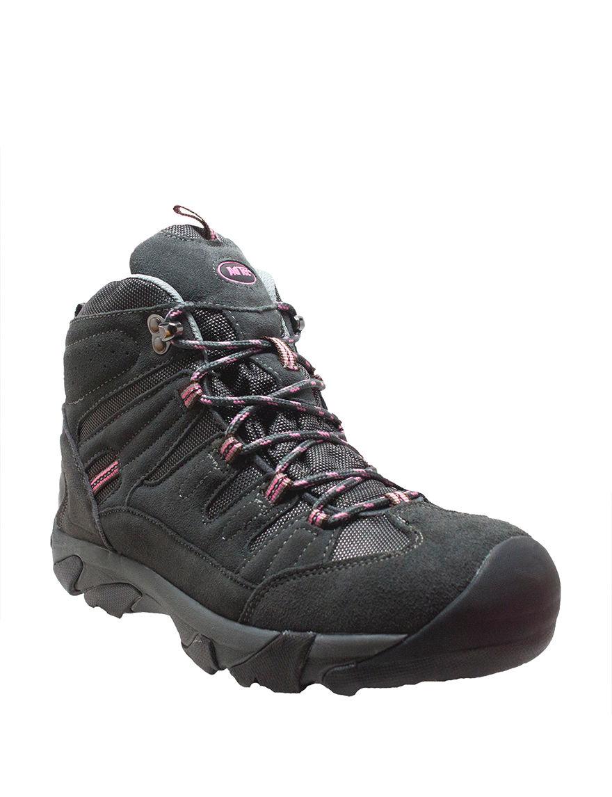 Adtec Grey / Pink Composite Toe