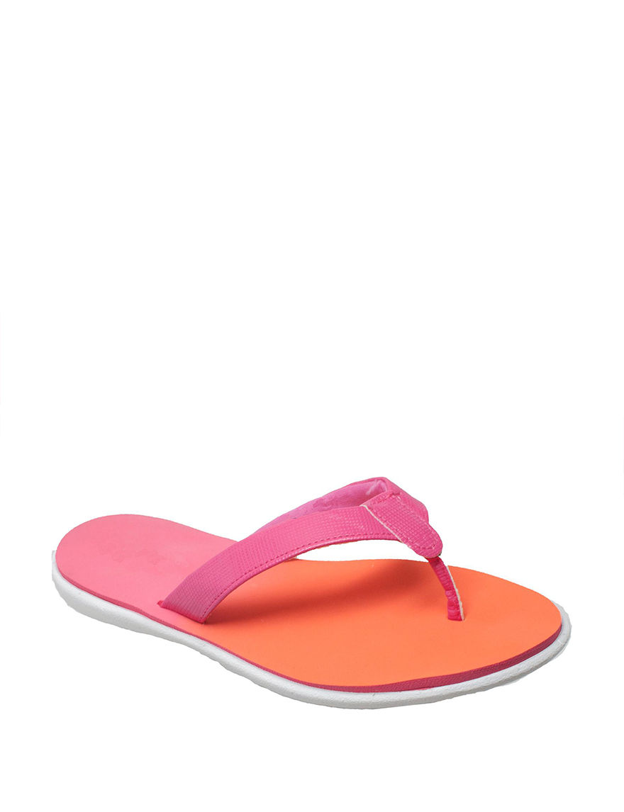 Shaboom Pink / Orange Flip Flops