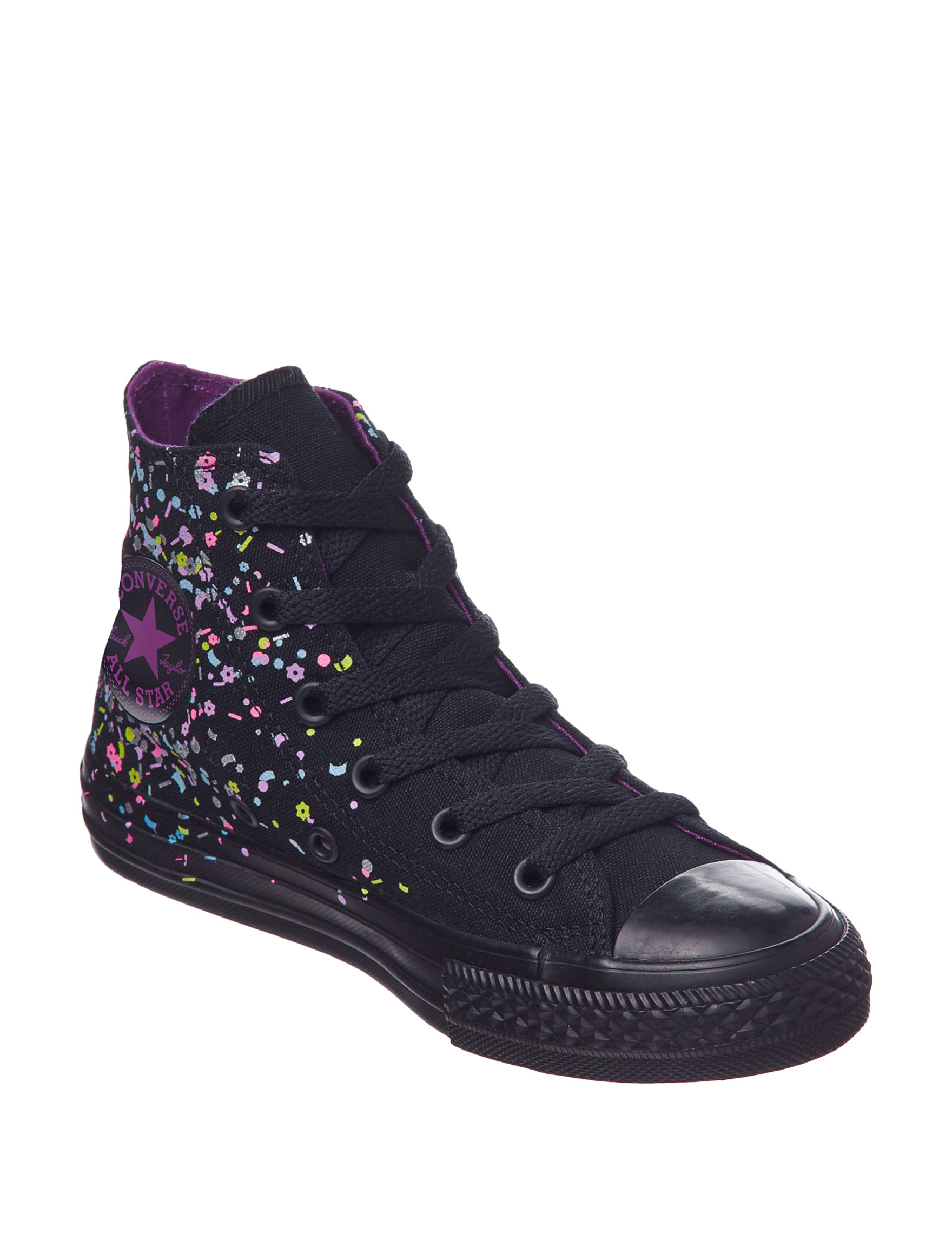 94722f780dd6 Converse Chuck Taylor All-Stars Confetti Hi Lace-Up Shoes - Girls 11-3